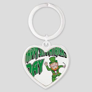 pat281dark Heart Keychain