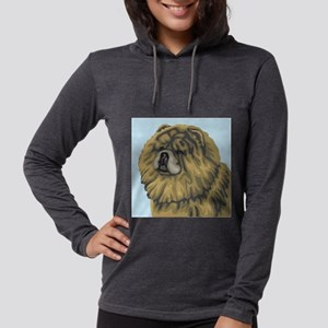 chow chow Womens Hooded Shirt