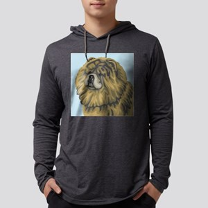chow chow Mens Hooded Shirt