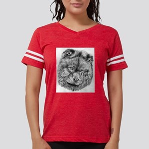 Chow chow Womens Football Shirt
