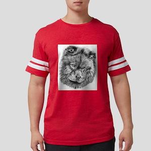 Chow chow Mens Football Shirt