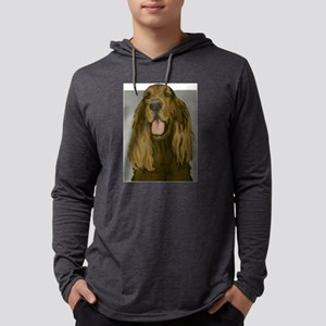 Irish setter Mens Hooded Shirt