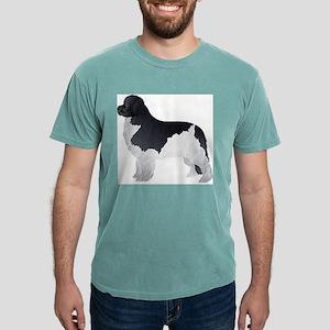 Newfoundland dog Mens Comfort Colors Shirt