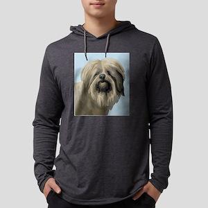 Polish Lowland Sheepdog Mens Hooded Shirt