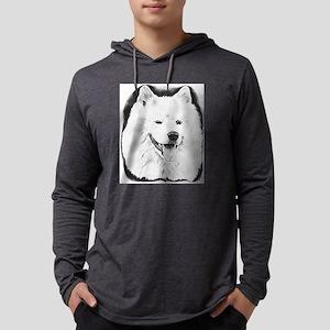 Samoyed Mens Hooded Shirt