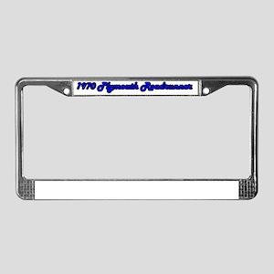 1970 Plymouth Roadrunner License Plate Frame