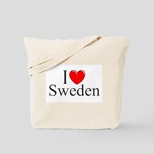 """""""I Love Sweden"""" Tote Bag"""