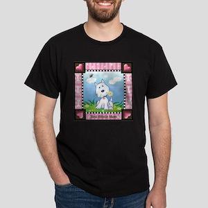 Best Westie Mom Dark T-Shirt