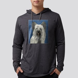 Skye Terrier Mens Hooded Shirt