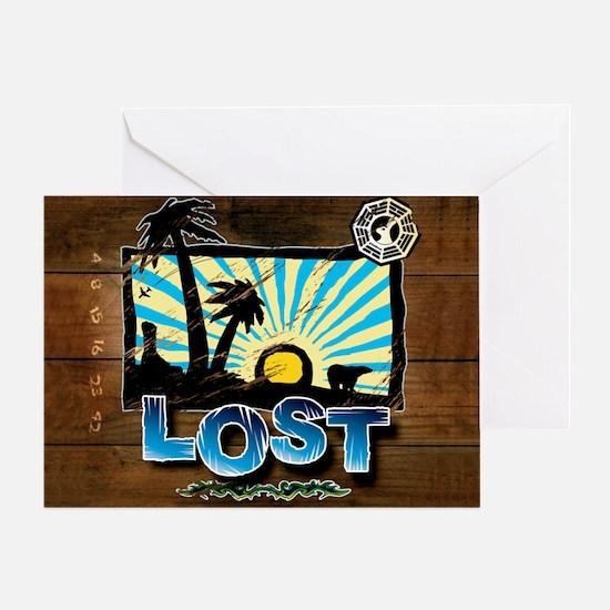 lostwoodvintageCALENDAR Greeting Card