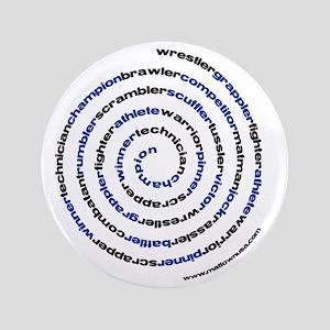 """SpiralWrestlerWords 3.5"""" Button"""