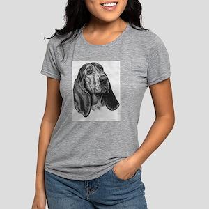 Basset hound Womens Tri-blend T-Shirt