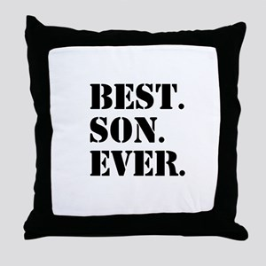 Best Son Ever Throw Pillow
