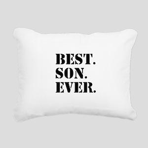Best Son Ever Rectangular Canvas Pillow