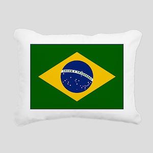 Flag_of_Brazil Rectangular Canvas Pillow