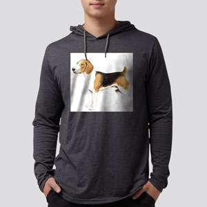 dover beagle Mens Hooded Shirt
