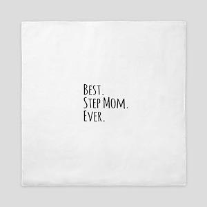 Best Step Mom Ever Queen Duvet