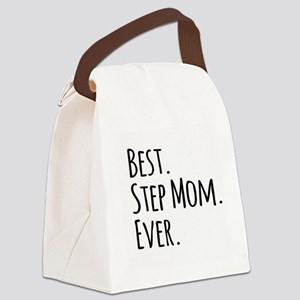 Best Step Mom Ever Canvas Lunch Bag