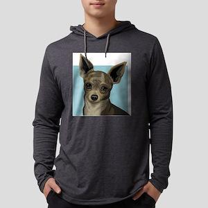 chau Mens Hooded Shirt