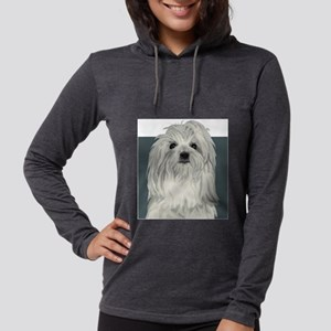 Coton de Tulear Womens Hooded Shirt