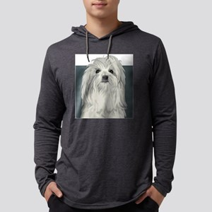 Coton de Tulear Mens Hooded Shirt