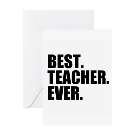 Best teacher ever greeting cards by admin cp49789583 for Best holiday cards ever