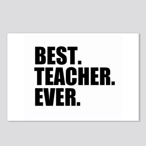 Best Teacher Ever Postcards (Package of 8)