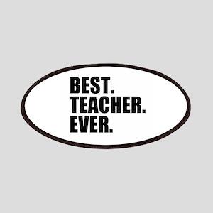 Best Teacher Ever Patches