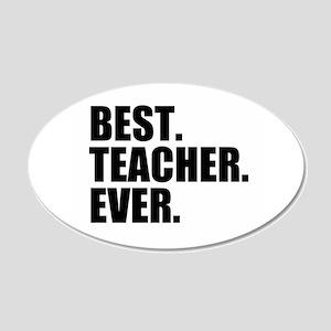 Best Teacher Ever Wall Sticker