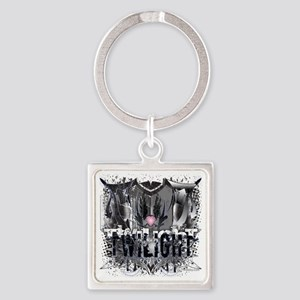 Twilight Twibaby New Grunge Heart  Square Keychain
