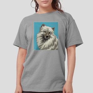 Keeshond Womens Comfort Colors Shirt