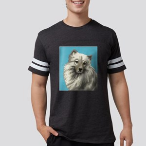 Keeshond Mens Football Shirt