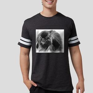 Pekingese Mens Football Shirt