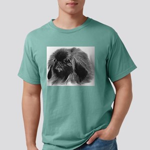 Pekingese Mens Comfort Colors Shirt