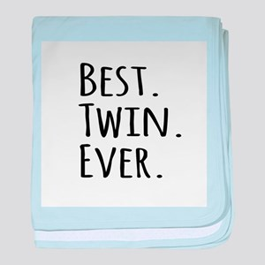 Best Twin Ever baby blanket
