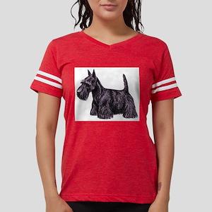 Scottish Terrier Womens Football Shirt