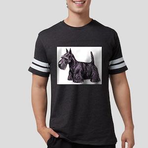 Scottish Terrier Mens Football Shirt