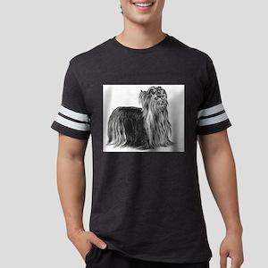 Yorkshire Terrier Mens Football Shirt