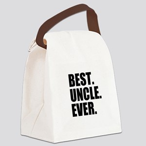 Best Uncle Ever Canvas Lunch Bag