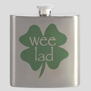wee lad irish Flask