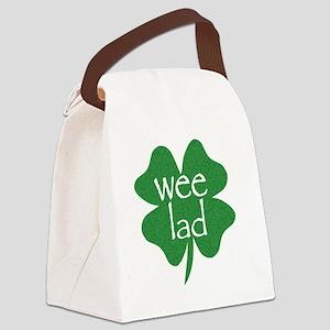 wee lad irish Canvas Lunch Bag