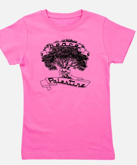 peace_in_palestine_t_shirt Girl's Tee