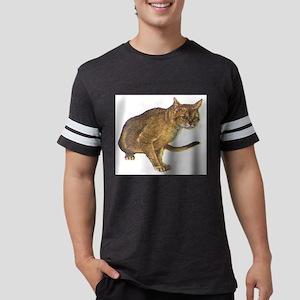 Abyssinian cat Mens Football Shirt