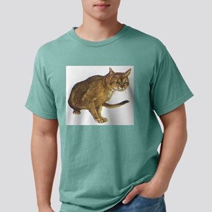 Abyssinian cat Mens Comfort Colors Shirt