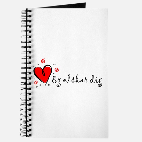 """I Love You"" [Danish] Journal"
