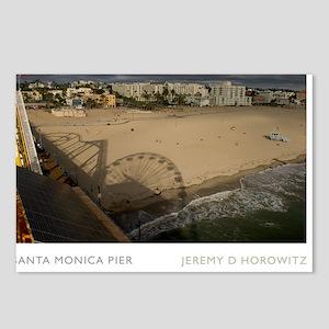 16X20-SANTA-MONICA-PIER Postcards (Package of 8)