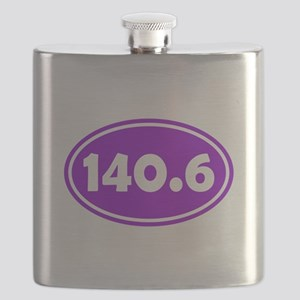 Purple 140.6 Oval Flask