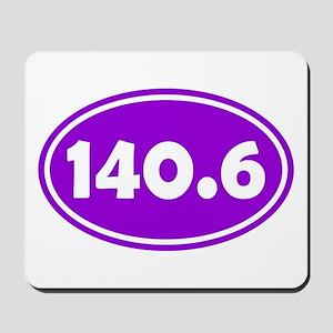 Purple 140.6 Oval Mousepad