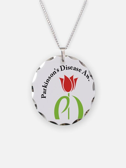 parkinsons awareness pd tuli Necklace