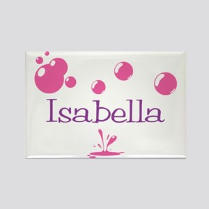 Isabella Bubbles Rectangle Magnet